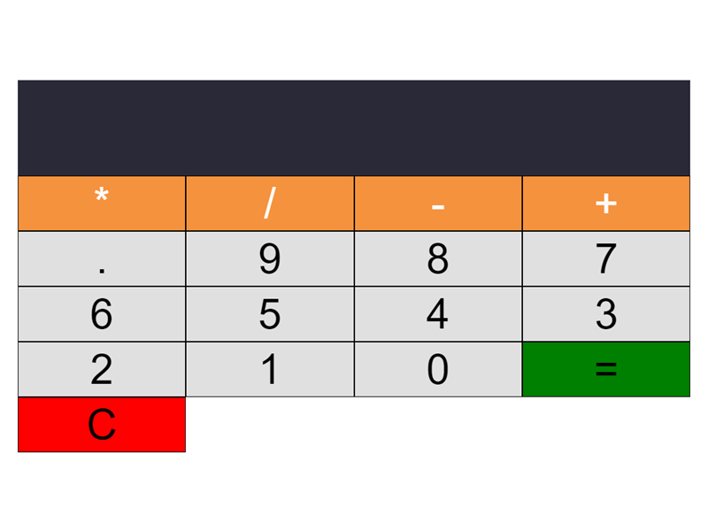 calculator javascript project