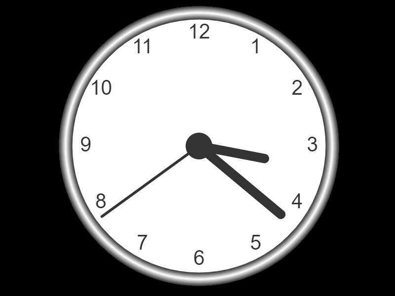 Analogue Clock JavaScript Project