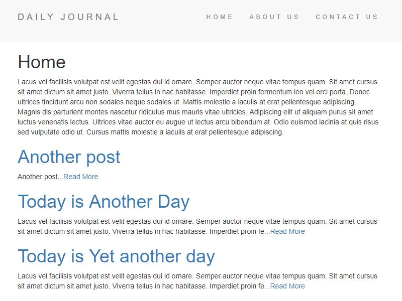 blog javascript project