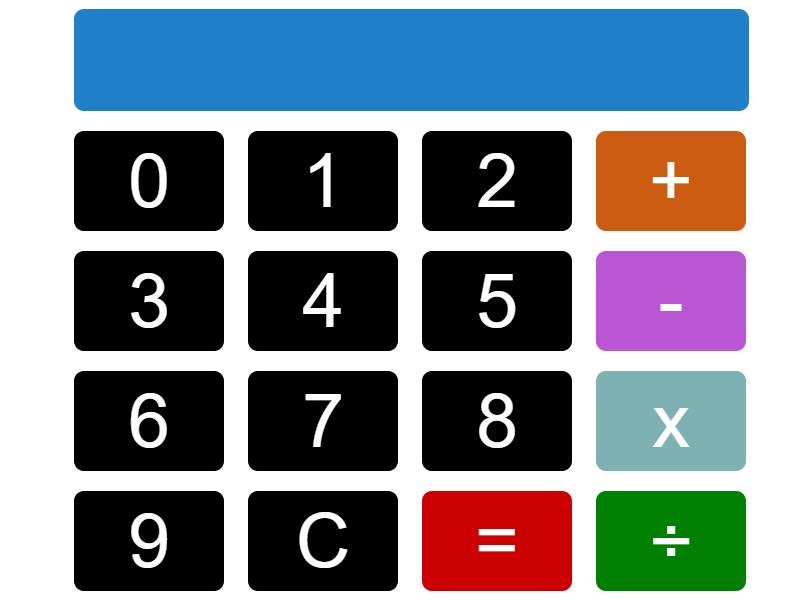 basic javascript calculator