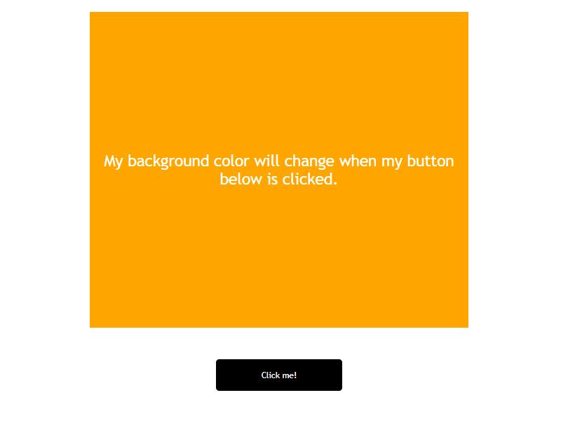 javascript color change app