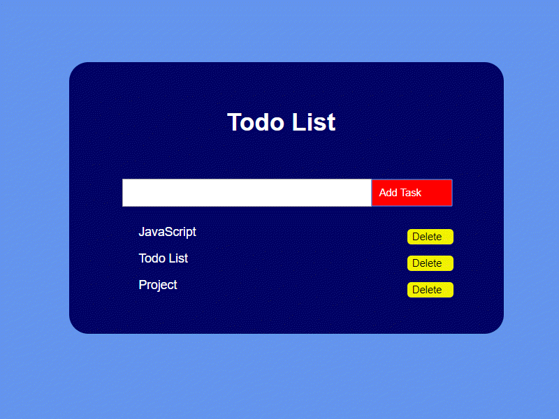 todolist project bluelime